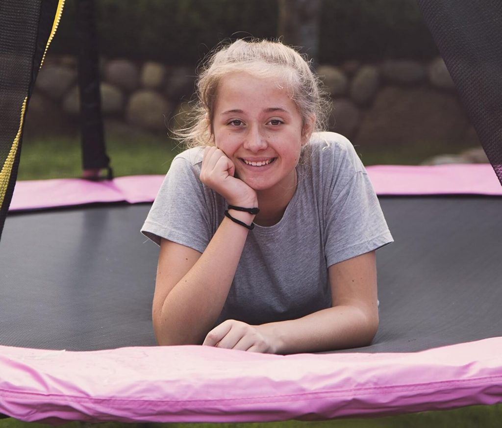 Trampolin fitness grande de jardin ultrasport jumper
