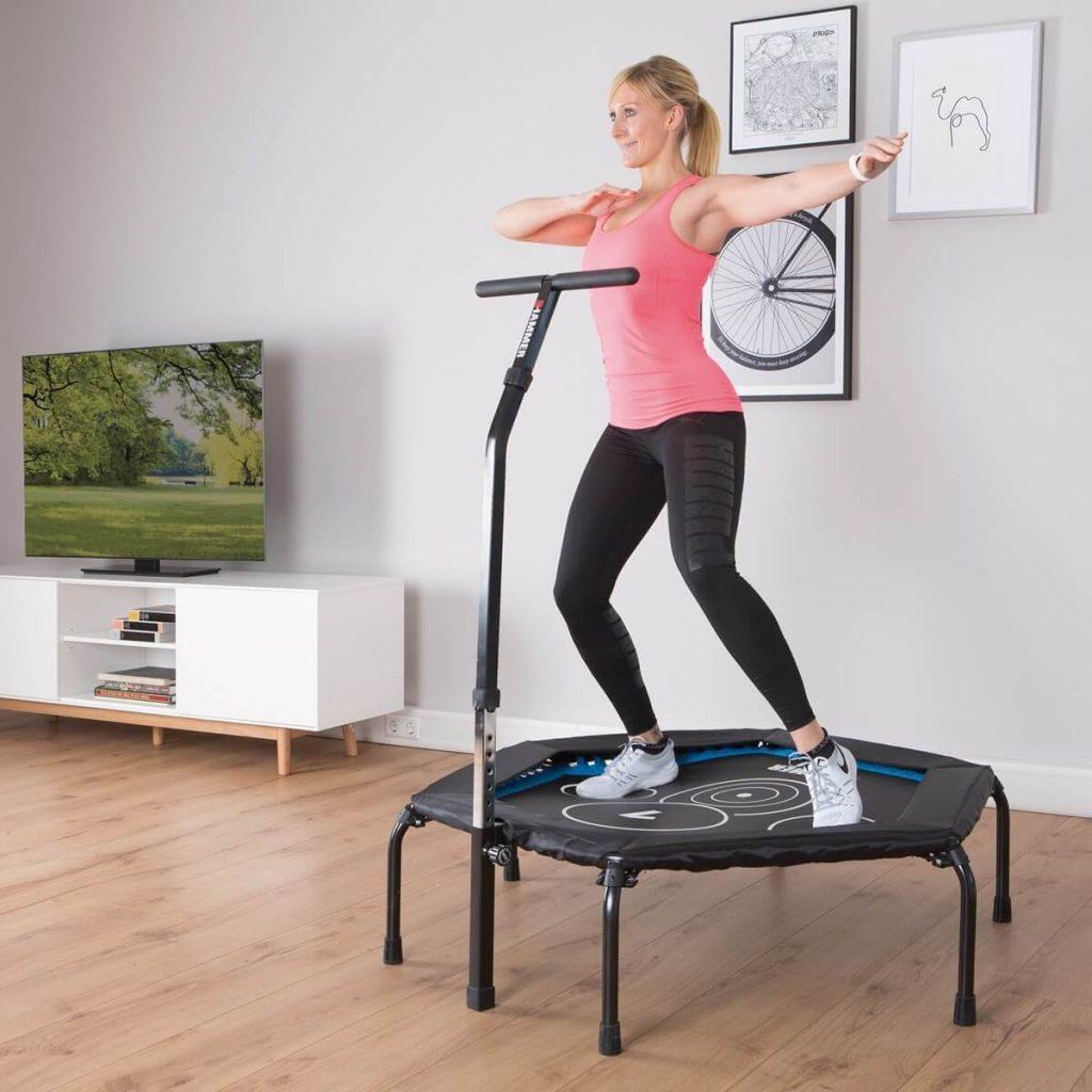 Trampolin jumping fitness de workout bangee jump