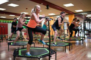 Rutitna workout jump en gimnasio McFit
