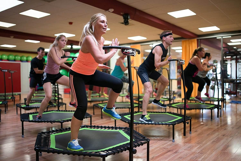 ejercicios para bajar de peso en trampolin