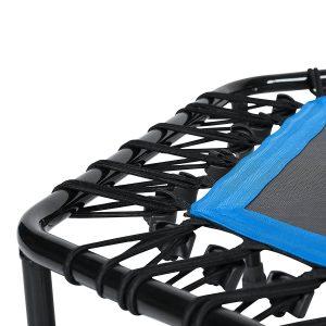 mini cama elástica para jumping fitness SportPluss colores azul rojo verde decathlon