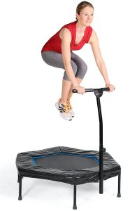 Trampolín Fitness SportPlus para jumping fitness body jump dance fit aerobic workout