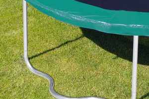 Cama elástica verde ultrasport jumper de muelles