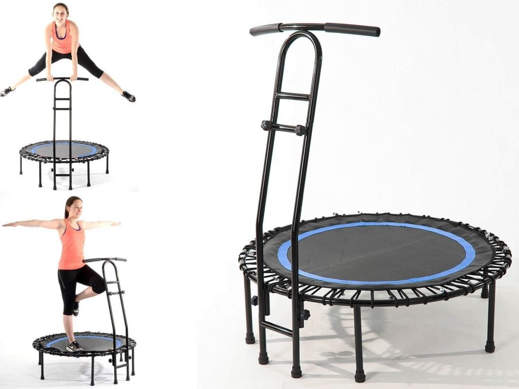 Trampoline junping fitness dance fit aerobic