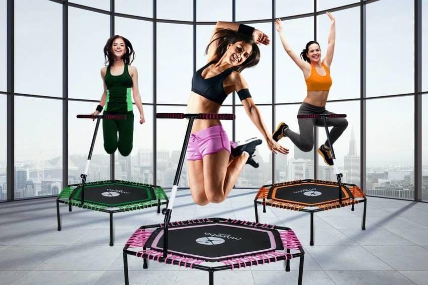 Cama elástica individual para fitness barata aerobic dance