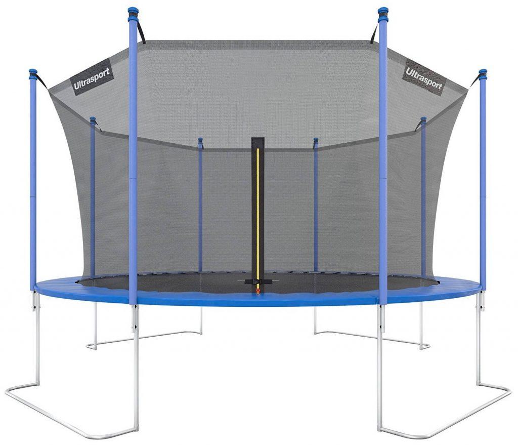 Trampolín de gran tamaño para jardín o patio Ultrasport Jumper económico