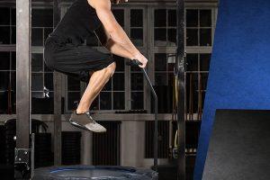 ejercicios intensivo en trampolin jumping fitness de cuerdas bungee sin muelles