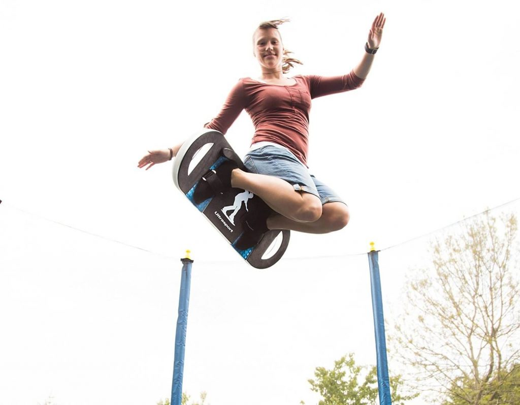 Tabla elástica que siver para saltar sobre trampolin Ultrasport Board precio más barato