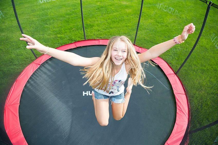 Trampolín con red oferta decathlon el mejor trampolin precio